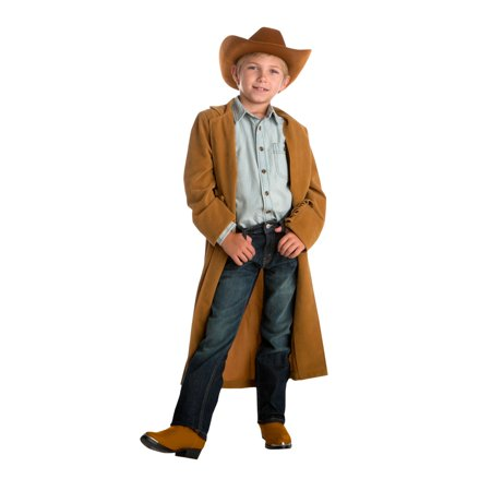 Cowboy Duster with Hat - Neon Cowboy Hat