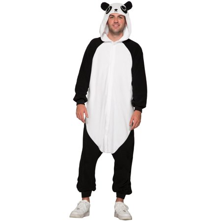 Panda Jumpsuit Adult Costume