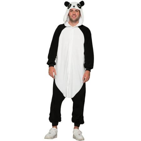 Panda Jumpsuit Adult Costume