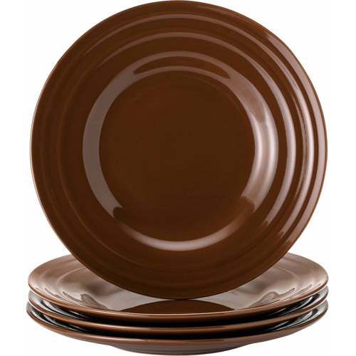 Rachael Ray Double Ridge Salad Plates, Set of 4