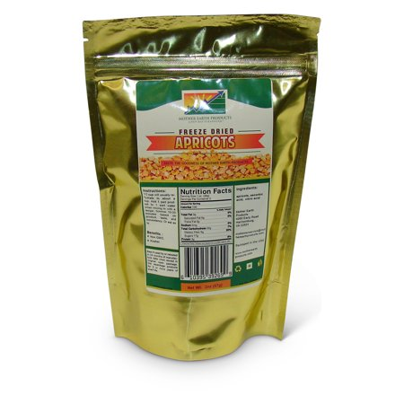 Freeze Dried Apricots, 2 full cup Mylar Bag
