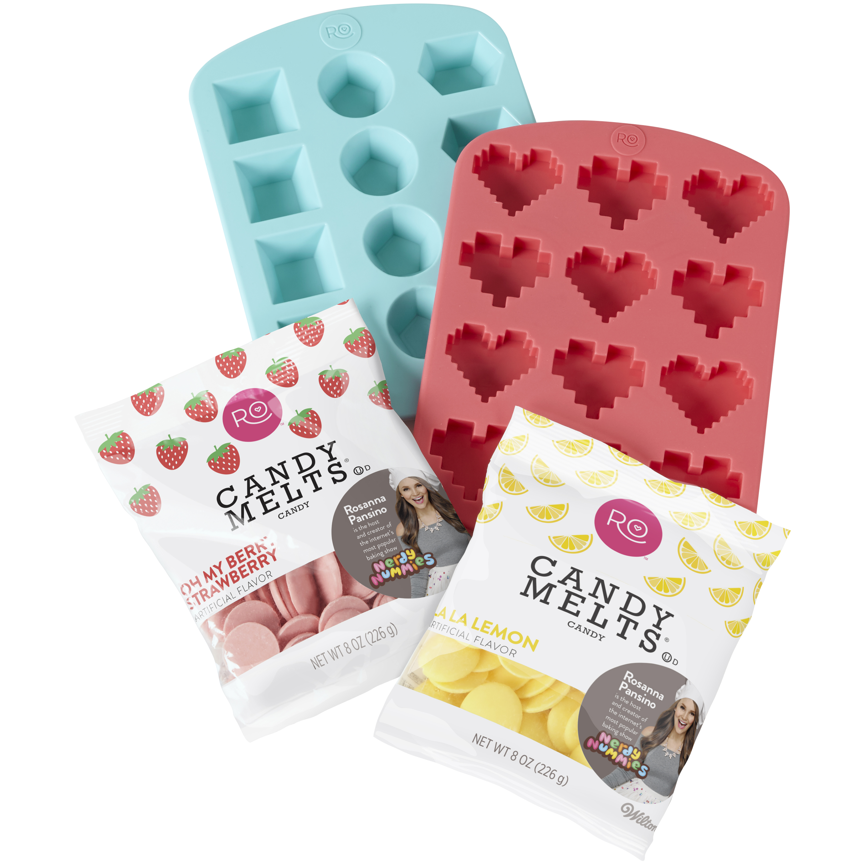 Wilton Rosanna Pansino Hearts n' Gems Candy Making Set