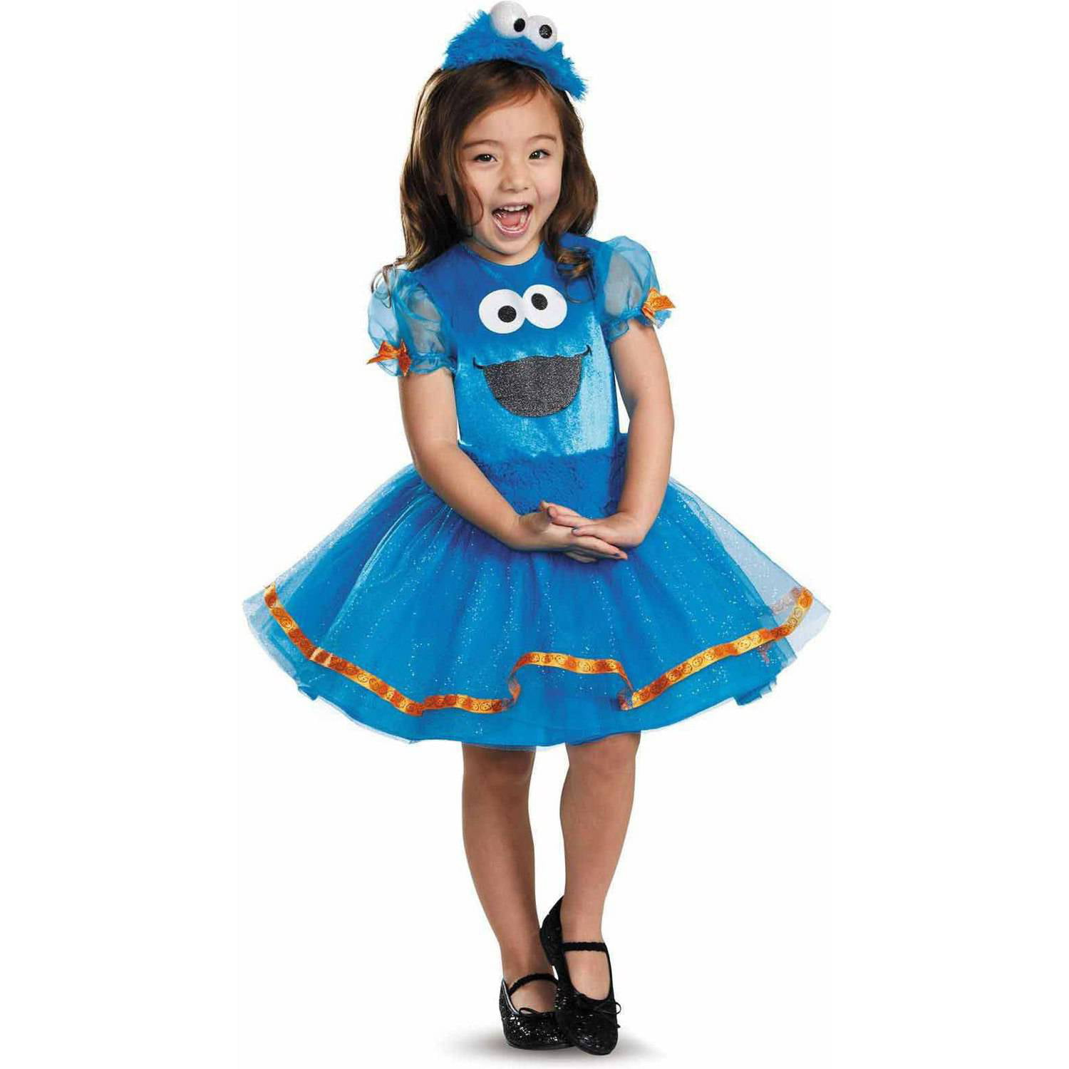 sc 1 st  Walmart : cookie monster girls costume  - Germanpascual.Com