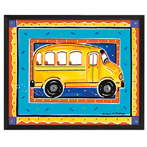 Timeless Frames School Bus Framed Art, 10x8