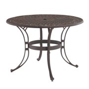 """Home Styles Biscayne 42"""" Round Outdoor Dining Table, Multiple Finishes"""