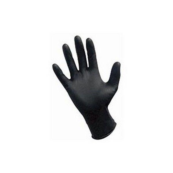 Raven Powder Free Black Nitrile Gloves XX Large SAS66520 Brand New!