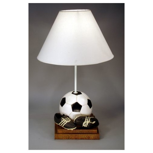 Judith Edwards Designs Soccer 21'' Table Lamp