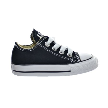 Converse 7J235: Chuck Taylor All Star Toddler OX Sneaker (Classic Black, 3 US Infant)