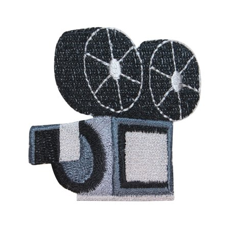 ID 3092 Old Fashion Video Recorder Patch Movie Film Embroidered Iron On Applique