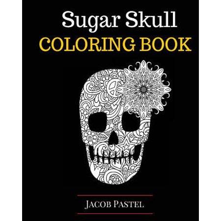 sugar skull coloring book - Sugar Skull Coloring Book