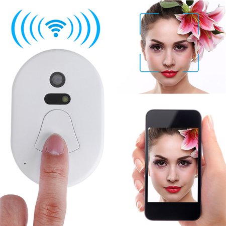 Yosoo Smart 2.4G RF Wireless Ring Doorbell WiFi Visual Camera Phone Anti-theft Alarm Home Security - image 3 de 8