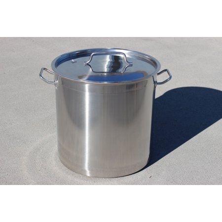 CONCORD Triply Bottom Stainless Steel Stock Pot Home Brew Kettle (80 QT)
