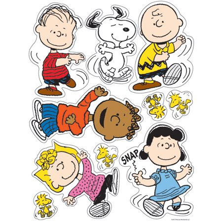 PEANUTS CLASSIC CHARACTERS WINDOW CLINGS](Peanuts Halloween Window Clings)