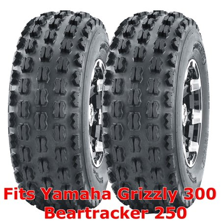 2 ATV Tires 22x7-10 22x7x10 Yamaha Grizzly 300 Beartracker 250 front GNCC - Foam Racing Tires Front