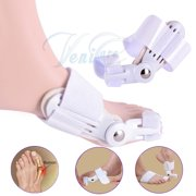 2PCS/pair VeniCare Bunions Pain Relief Cushion Corrector Splint Big Toe Spreaders Appliance Protectors Toe Separators Straightener Therapeutic Relaxing Alignment for Feet