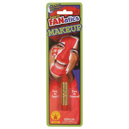Red Sports Fanatic Makeup Stick Colored Halloween Costume Face Paint Accessory