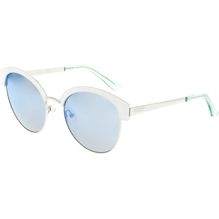 Guess Women's GF0316-21X-52 White Butterfly (Sunglasses Guess Women)