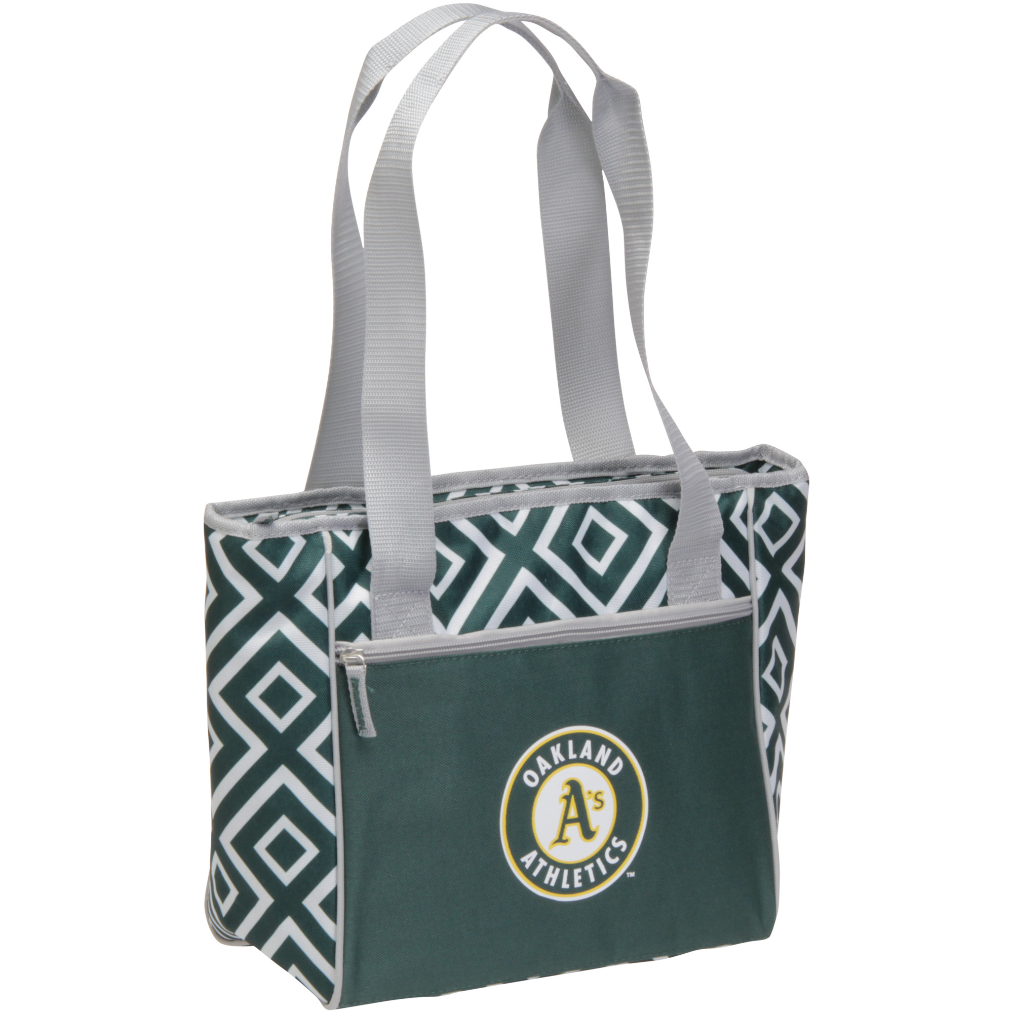 Oakland Athletics 16-Can Double Diamond Cooler Tote - No Size