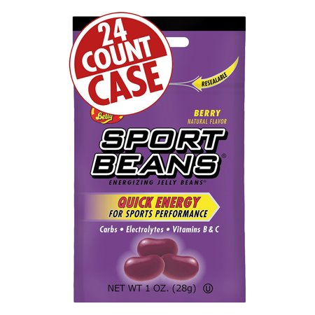(Jelly Belly Sport Beans: Berry, Box of 24)