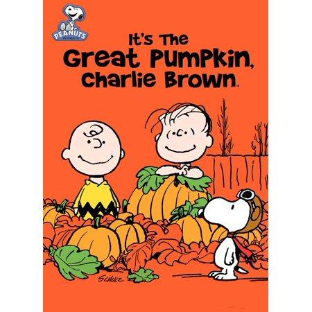 It's a Great Pumpkin Charlie Brown (1966) 11x17 Movie Poster - 1966 Batman Movie Poster