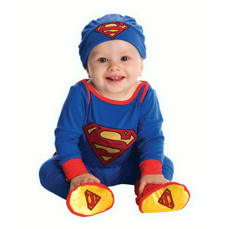 Superman Onesies For Adults (Rubies Superman Onesie Infant Halloween)