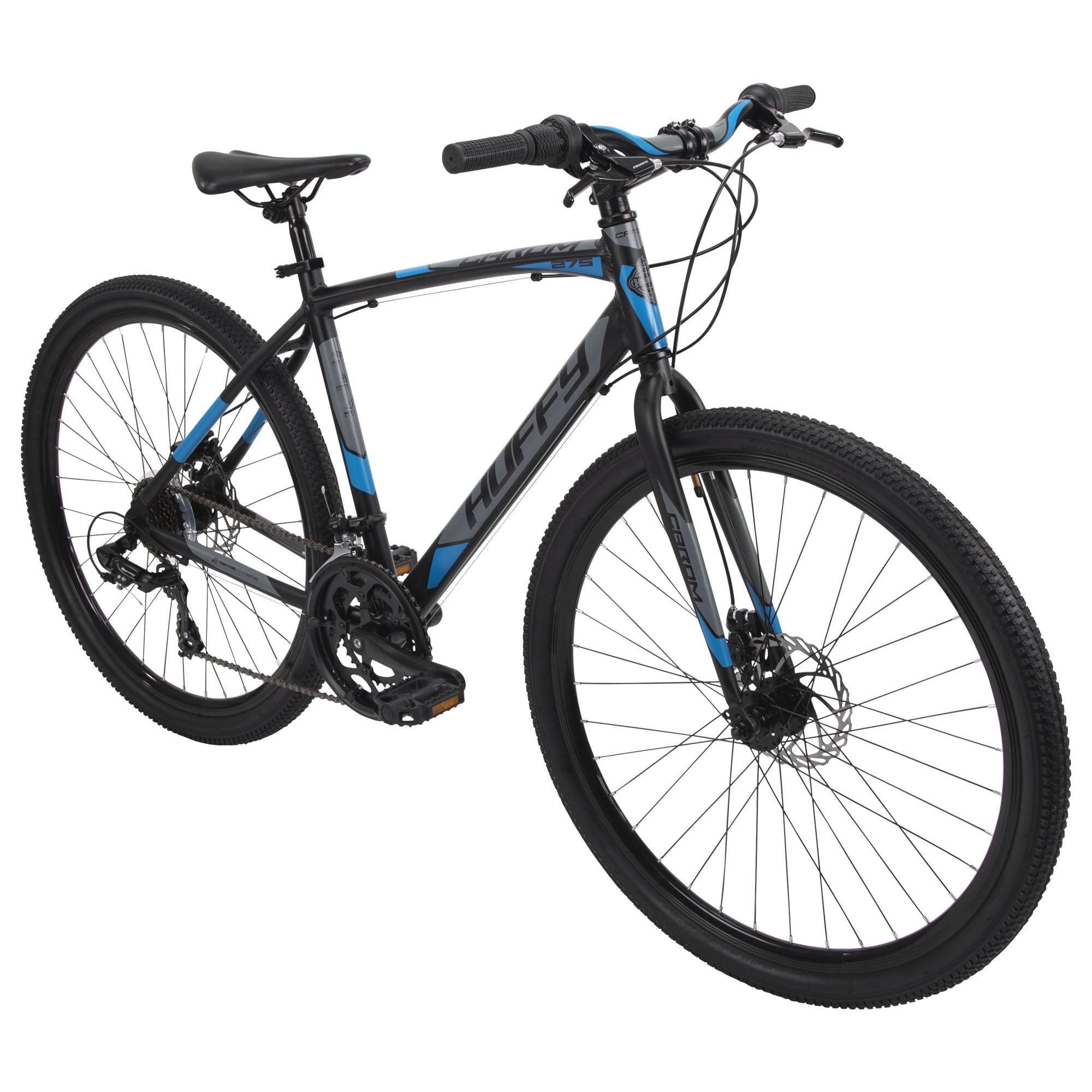 Huffy 27.5 Carom Mens 14-Speed Aluminum Gravel Bike for Adults