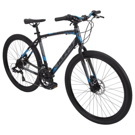 Huffy 27.5 Carom Mens 14-Speed Aluminum Gravel Bike for Adults