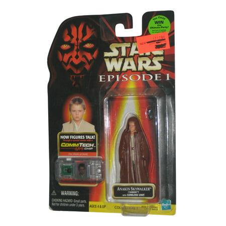 Star Wars Episode I The Phantom Menace Anakin Skywalker Naboo Figure w/ CommTech -