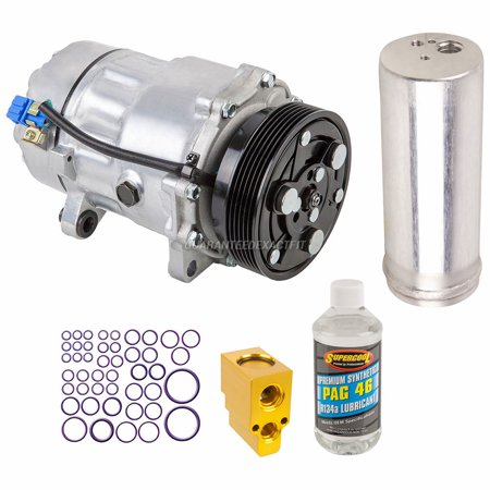 - AC Compressor w/ A/C Repair Kit For VW Golf & Audi TT Quattro TT