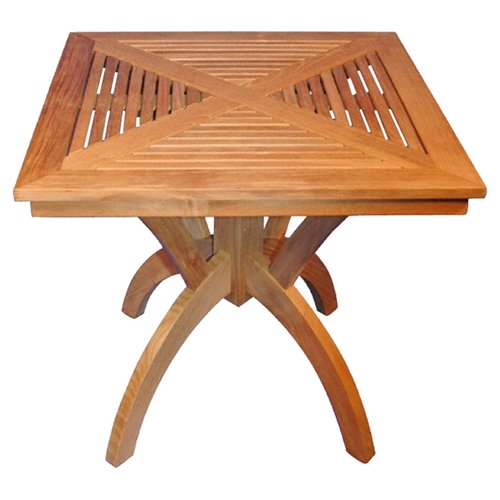 Regal Teak Pedestal Dining Table
