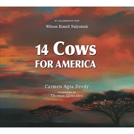 14 Cows for America (Paperback) (Spell The Word Cow In 14 Letters)