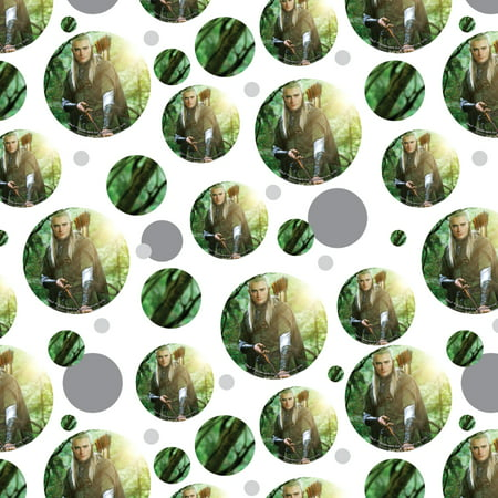 The Lord of the Rings Legolas Character Premium Gift Wrap Wrapping Paper Roll