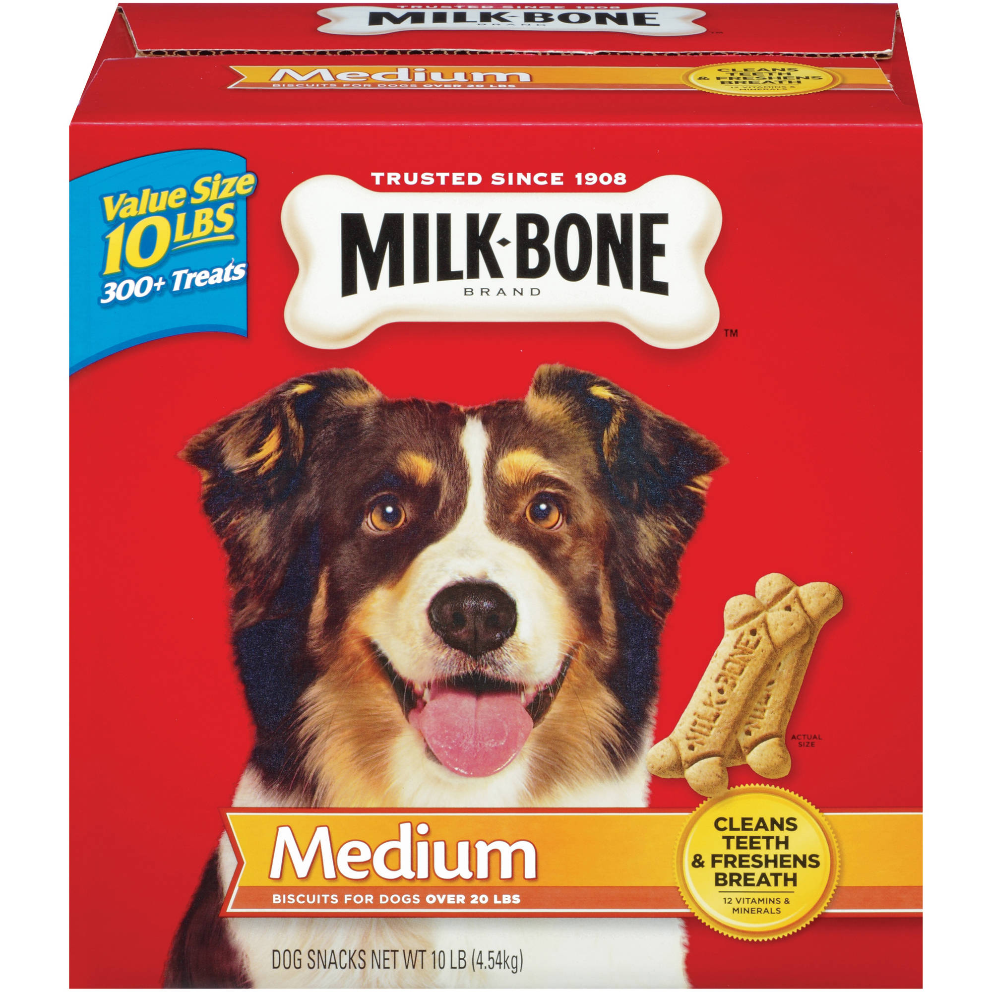 Milk-Bone Original Dog Biscuits - for Medium-Sized Dogs, 10-Pound
