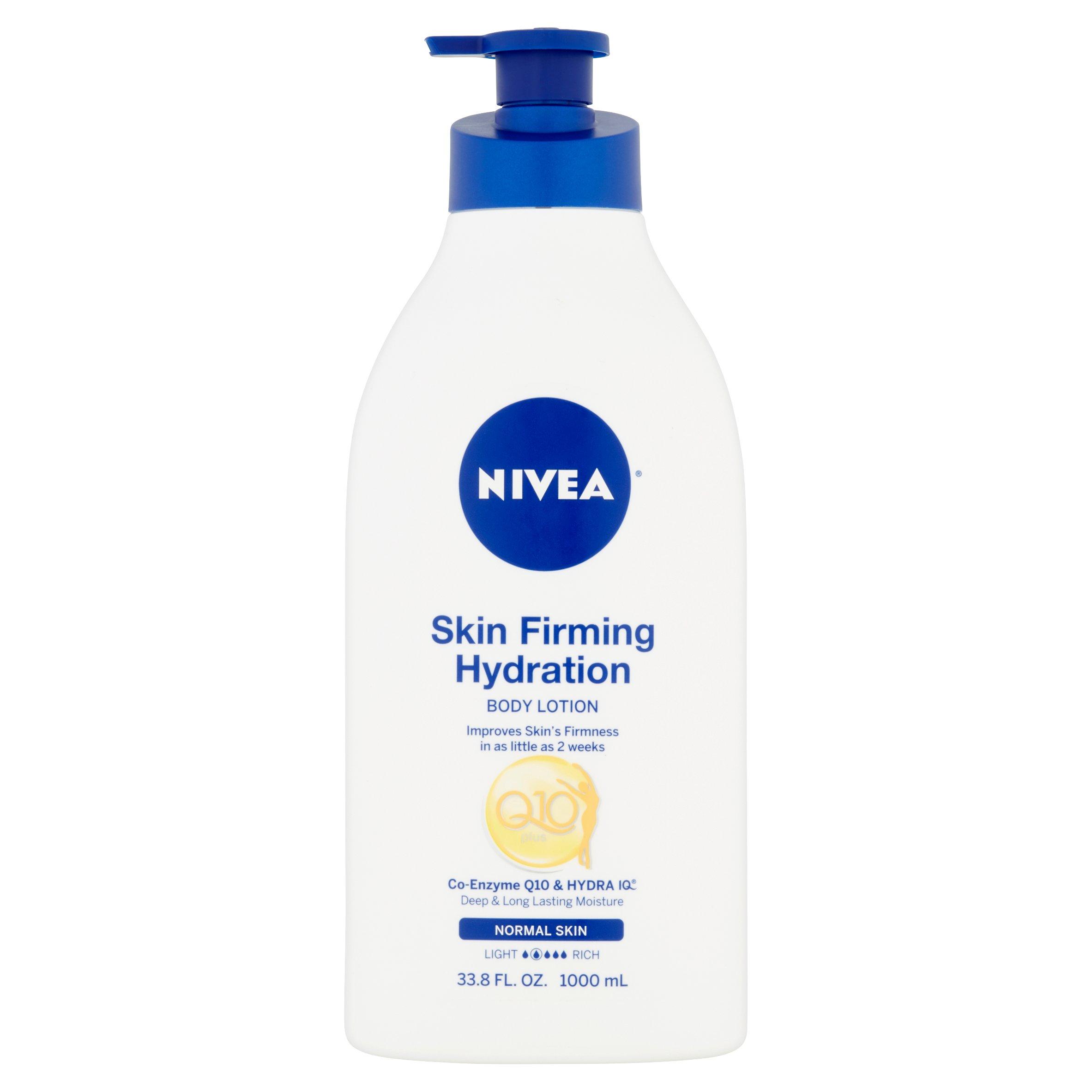 NIVEA Skin Firming Hydration Body Lotion, 33.8 fl oz - Walmart.com