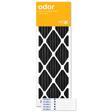 Airx Filters Odor 12x36x1 Air Filter Merv 8 Ac Furnace