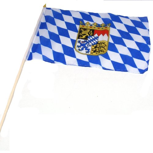 "12"" X 18"" Oktoberfest Flag, 12 tall and 18 long By Ruffin Flag Company"