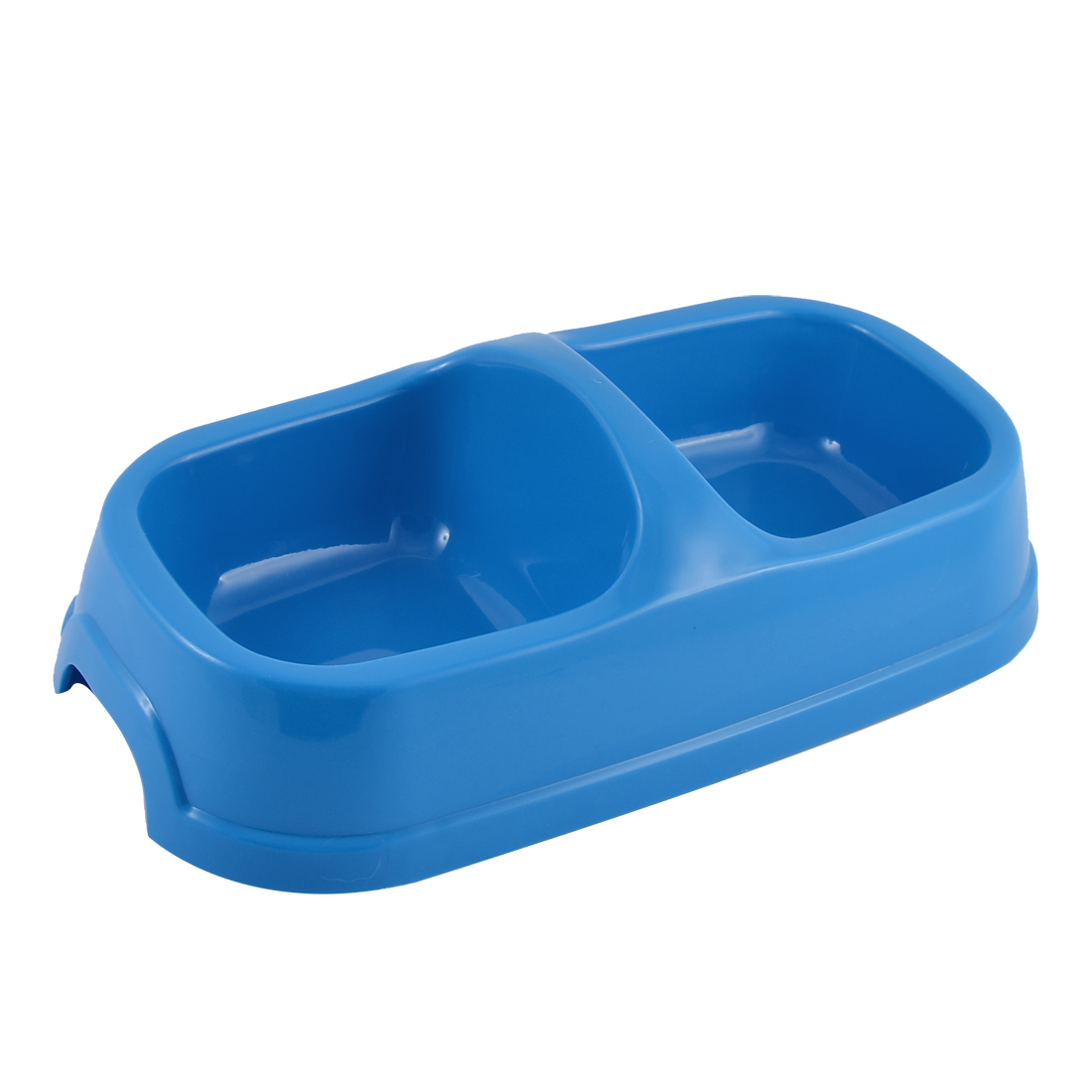 Rectangle Shaped Pet Cat Dog Doggy Puppy Food Water Feed