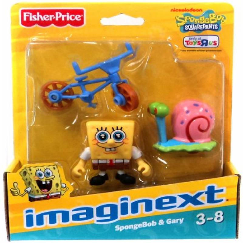 IMaginext, SpongeBob Squarepants Exclusive Figures, SpongeBob & Gary by