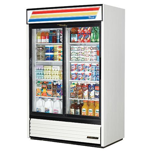 "True GDM-45 - 51"" Glass Door Reach In Refrigerator"