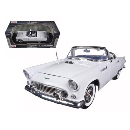 1 by 18 1956 Ford Thunderbird Convertible Diecast Model Car -