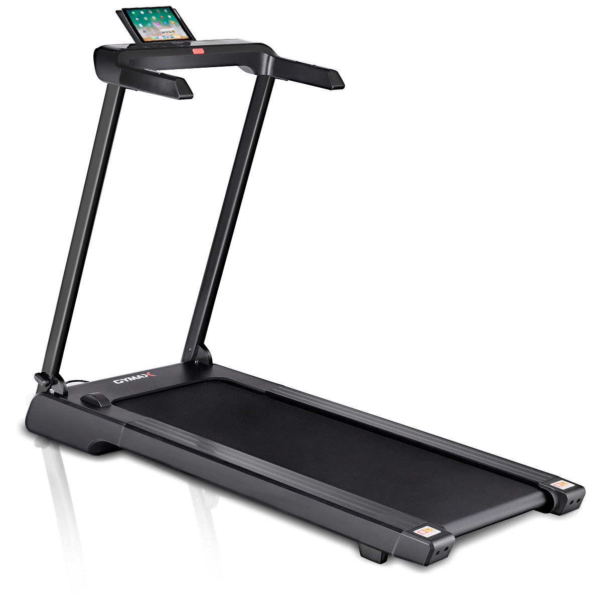 Gymax Folding Electric Treadmill 2.25Hp LED Display APP Free Installation Running