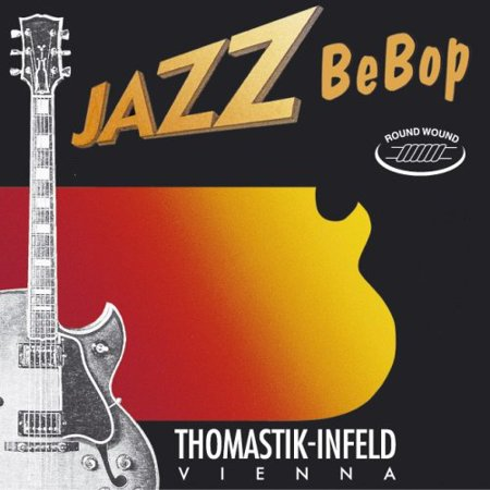 Thomastik-Infeld BB55 Jazz Guitar Strings: Jazz Series Strings Steel Core; Pure Nickel Round Wound - Single E String, Used by Students and.., By ThomastikInfeld From USA