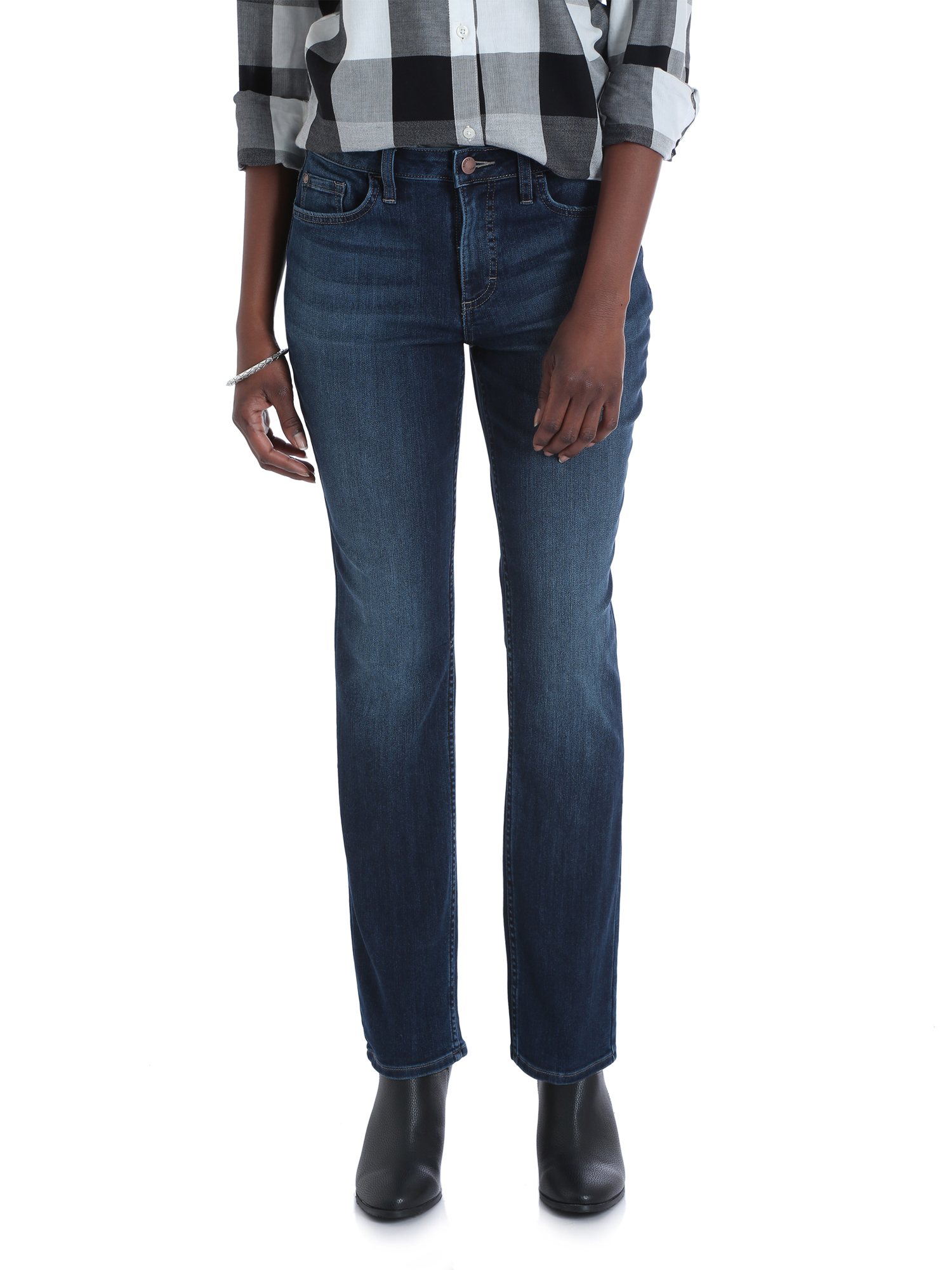 Women's Midrise Straight Jean