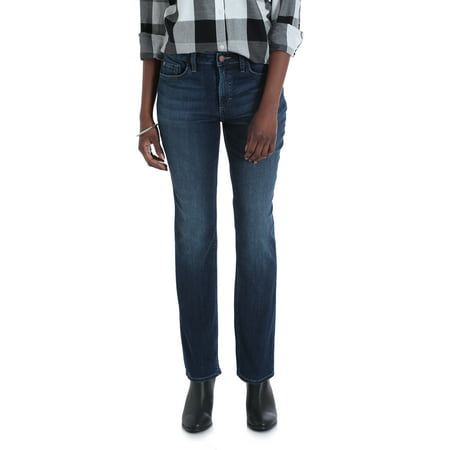 Petite Straight Leg Jeans - Lee Riders Women's Midrise Straight Jean