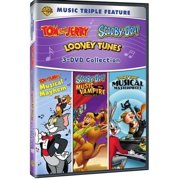 Music Triple Feature: Tom And Jerry: Musical Mayhem   Scooby-Doo!: Music Of The Vampire   Looney Tunes: Musical... by WARNER HOME VIDEO