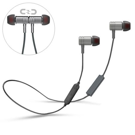 Wireless Headset Sports Earphones With Microphone Neckband Headphones J9M for OnePlus 7 Pro - Razer Phone 2 - RED Hydrogen One - Samsung Galaxy Sky S9 Plus, S8 Plus S7, J7 V (2017) Perx