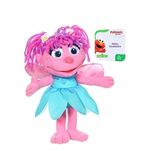 Playskool Friends Sesame Street Abby Cadabby Mini Plush Walmart Com Walmart Com
