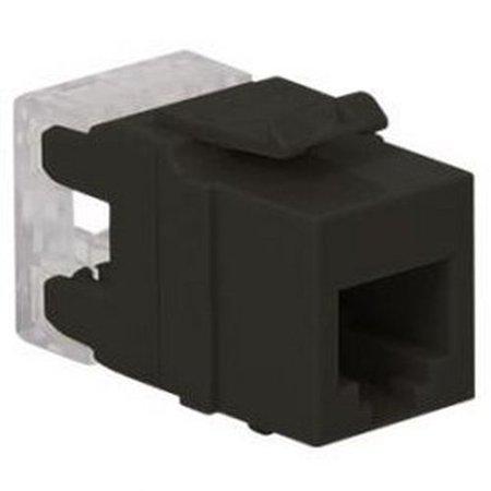 ICC Int'L Conn and Cable IC1076F0BK Module, Voice, Rj-11, Hd, (2 Way Voice Module)