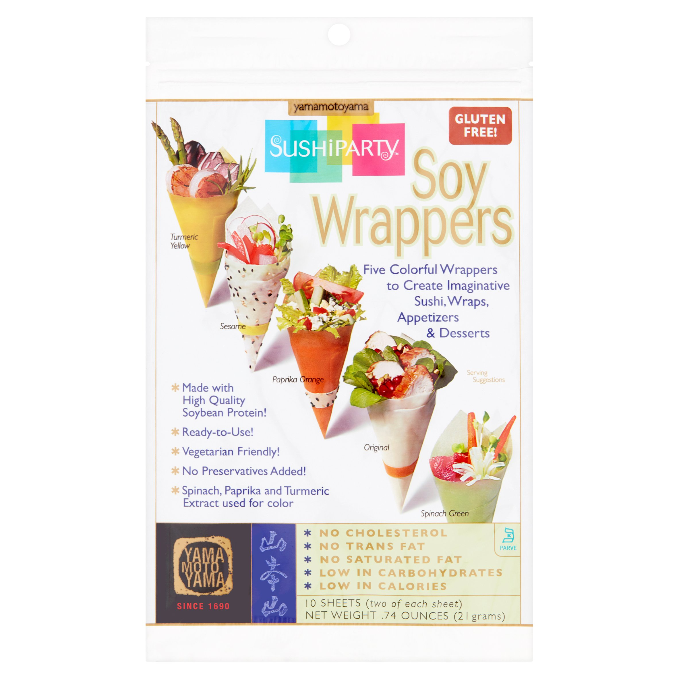 Sushi Party Soy Wrappers, 5 ct, 0.74 oz