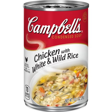 Campbell S Condensed Chicken With White Wild Rice Soup 10 5 Oz